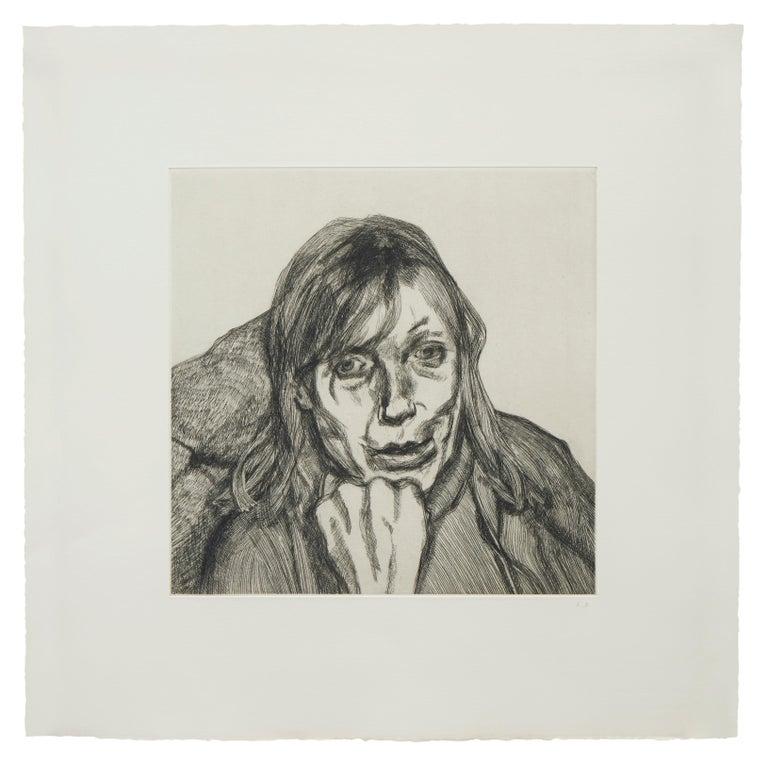 Lucian Freud Figurative Print - Susanna