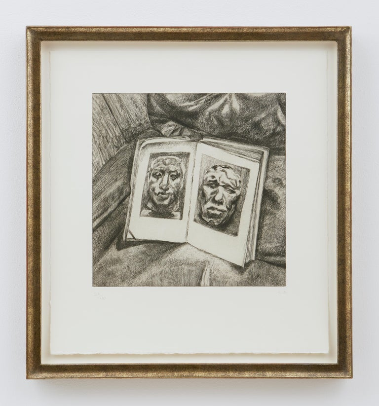 The Egyptian Book - Academic Print by Lucian Freud