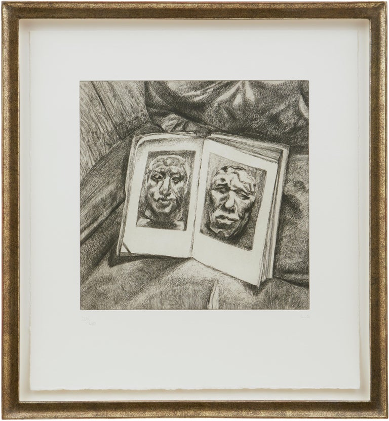 The Egyptian Book - Print by Lucian Freud