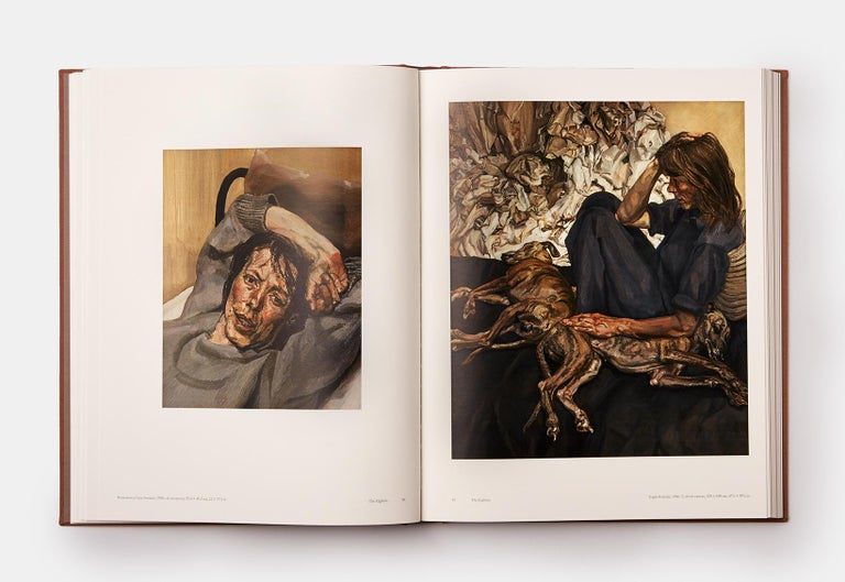 Lucian Freud Two-Volume Monograph with Slipcase In Excellent Condition For Sale In London, GB