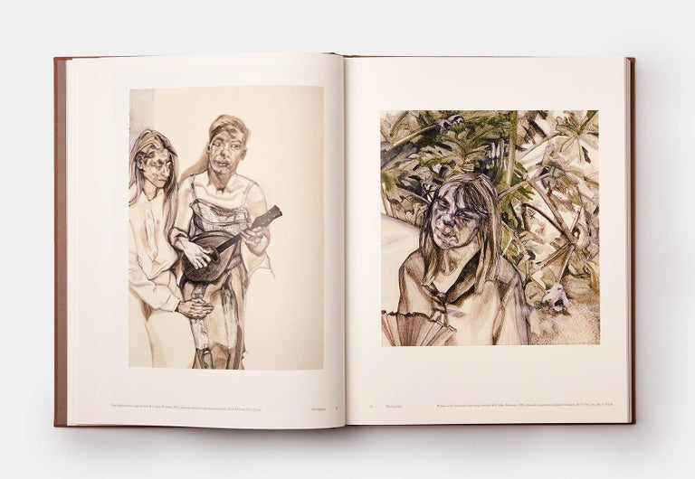 Lucian Freud Two-Volume Monograph with Slipcase For Sale 5