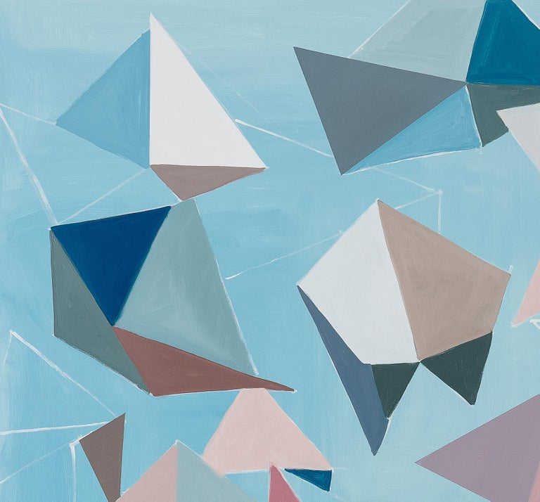 Untitled (Bichos-After Lygia Clark) - Painting by Luciana Levinton