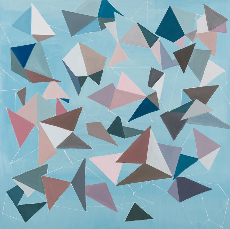 Luciana Levinton Abstract Painting - Untitled (Bichos-After Lygia Clark)