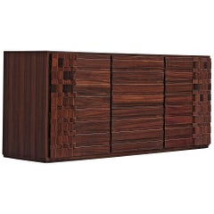 Luciano Frigerio Chest of Drawers in Rosewood
