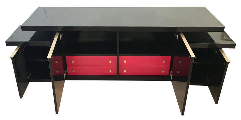 Luciano Frigerio Console or Cabinet Set, Italy, 1960s For Sale 4