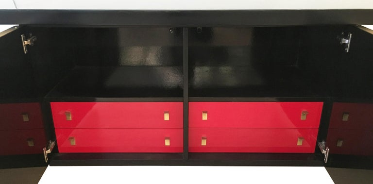 Luciano Frigerio Console or Cabinet Set, Italy, 1960s For Sale 6
