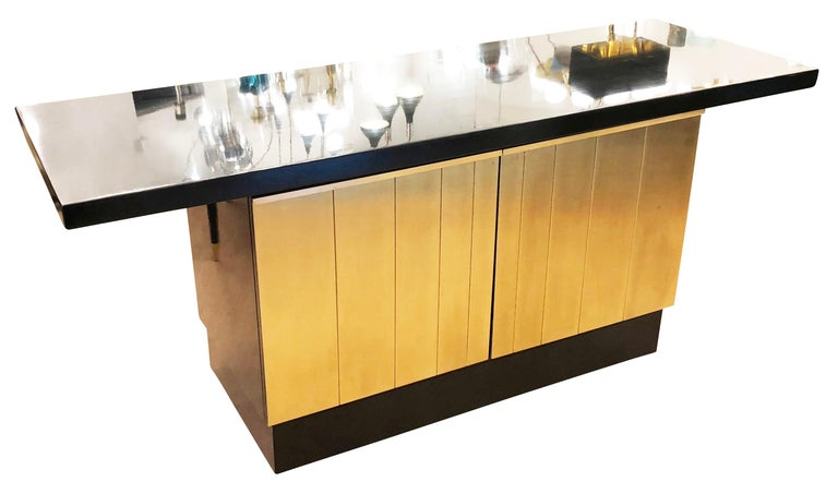 Mid-Century Modern Luciano Frigerio Console or Cabinet Set, Italy, 1960s For Sale