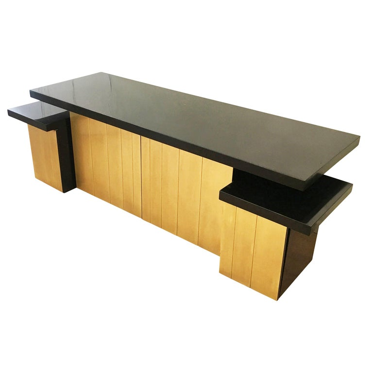 Mid-20th Century Luciano Frigerio Console or Cabinet Set, Italy, 1960s For Sale