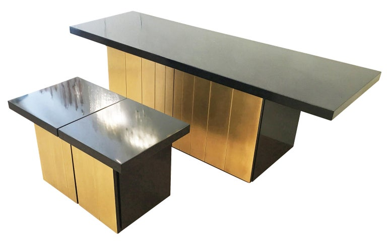 Luciano Frigerio Console or Cabinet Set, Italy, 1960s For Sale 1