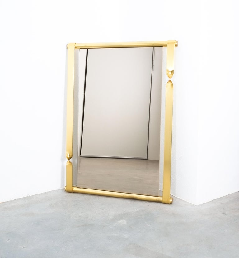 Luciano Frigerio Midcentury Mirror with Golden Twisted Frame, Italy, circa 1965 In Good Condition For Sale In Vienna, AT