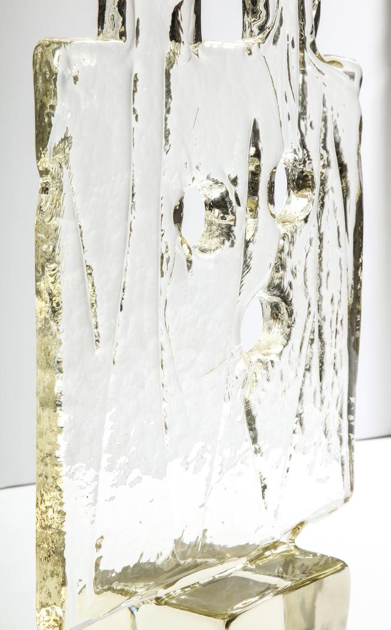 Luciano Gaspari Glass Sculpture for Salviati In Good Condition For Sale In New York, NY