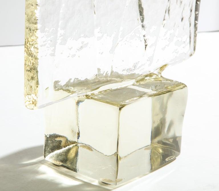 Mid-20th Century Luciano Gaspari Glass Sculpture for Salviati For Sale