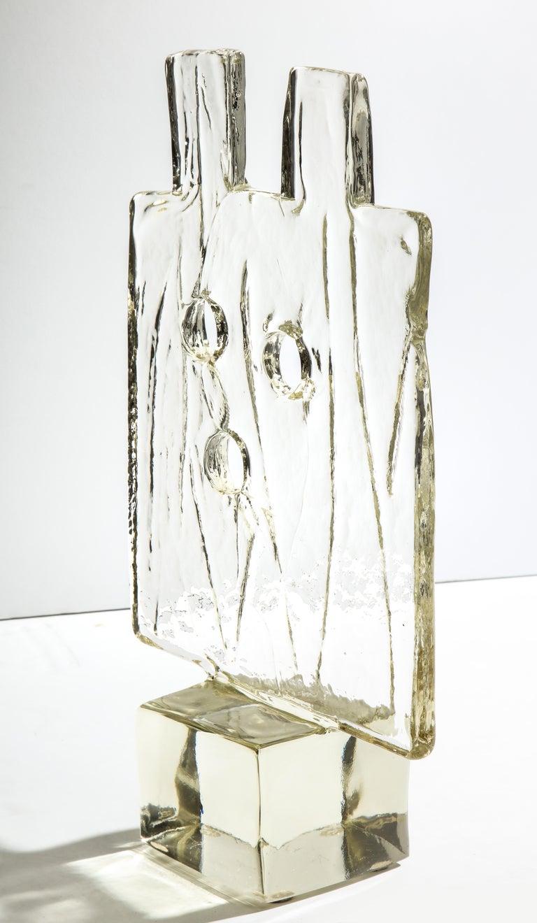 Luciano Gaspari Glass Sculpture for Salviati For Sale 2