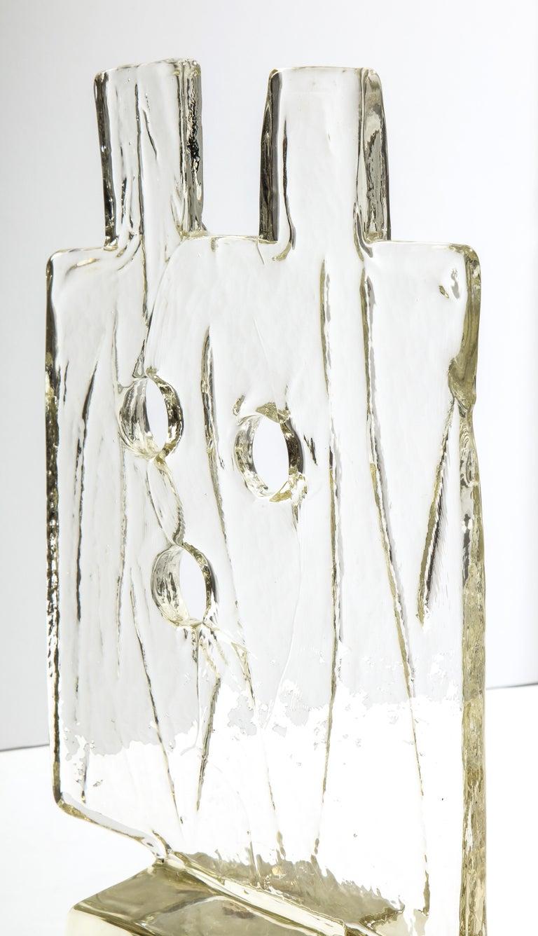 Luciano Gaspari Glass Sculpture for Salviati For Sale 3