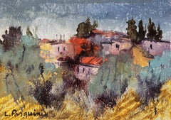 'Tuscan Landscape', Italian Post-Impressionism