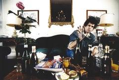 Keith Richards at Home Vintage Original Photograph