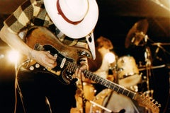 Stevie Ray Vaughan in Action Vintage Original Photograph