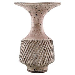 Lucie Rie, Austrian-Born British Potter, Large Modernist Unique Vase