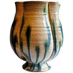 Lucie Rie, 'Gomperz' Wiener Werkstatte Period Important Vase