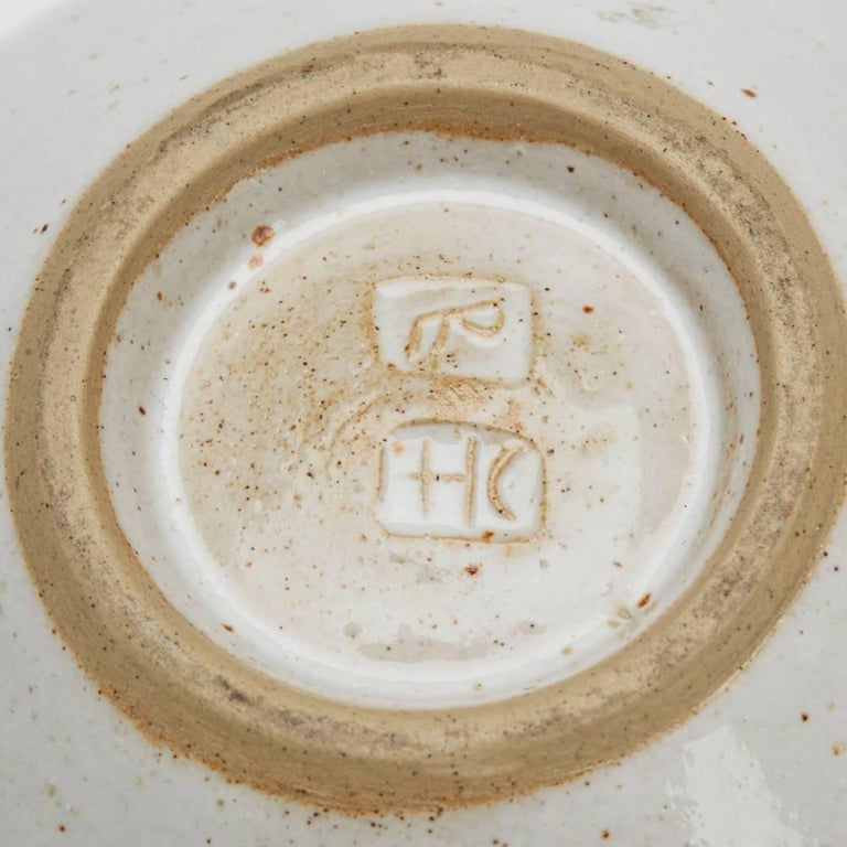 Lucie Rie & Hans Coper Studio Pottery Mustard Glazed Bowl For Sale 2