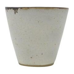 Lucie Rie, Small Stoneware Beaker, circa 1960
