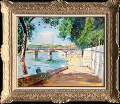 Below The Pont Des Arts