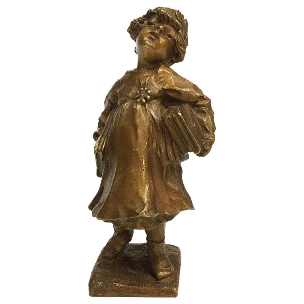 Lucien Alliot French Small Bronze Figurine