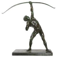 Lucien Alliot Sculpture, Bronze, France, 1920s