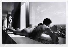 Man and Woman at Window
