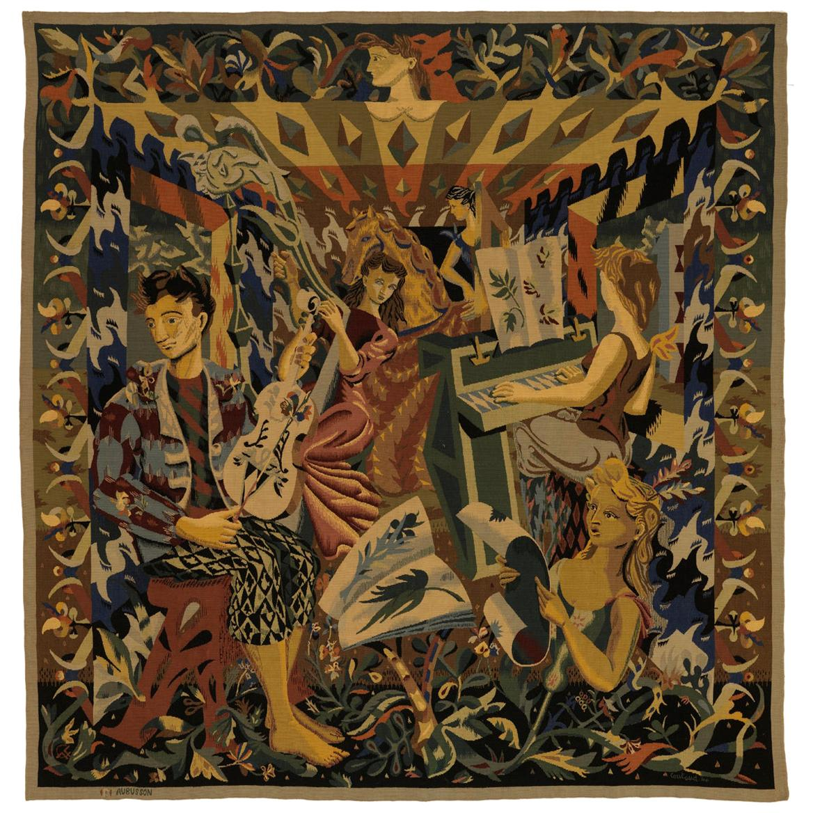 Lucien Coutaud Aubusson Tapestry