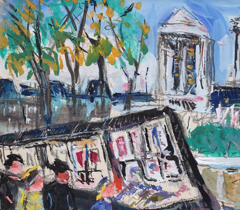 Paris Booksellers (Bouquinistes) Along the River Seine For Sale 5