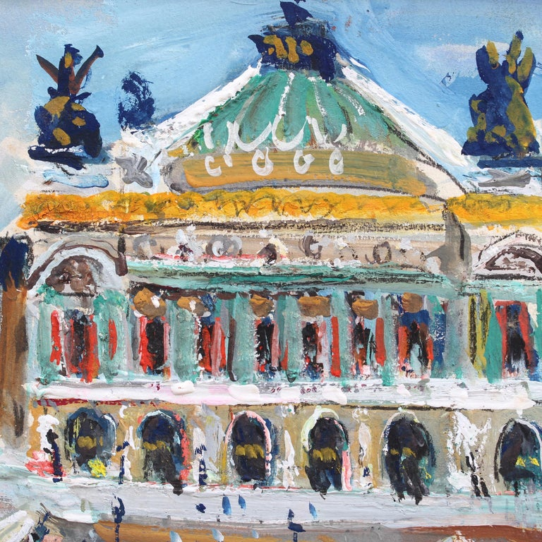 Paris Opera House Garnier by Lucien Génin (circa 1930s) 5