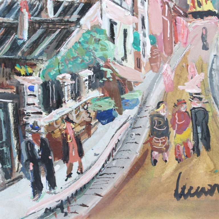 View of Montmartre from Rue Lepic For Sale 6