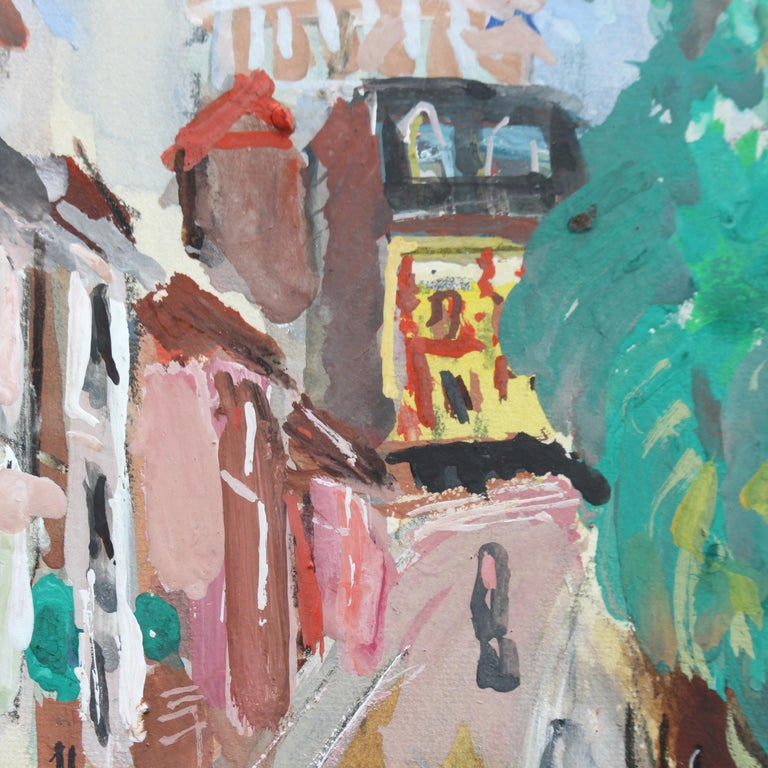 View of Montmartre from Rue Lepic For Sale 9