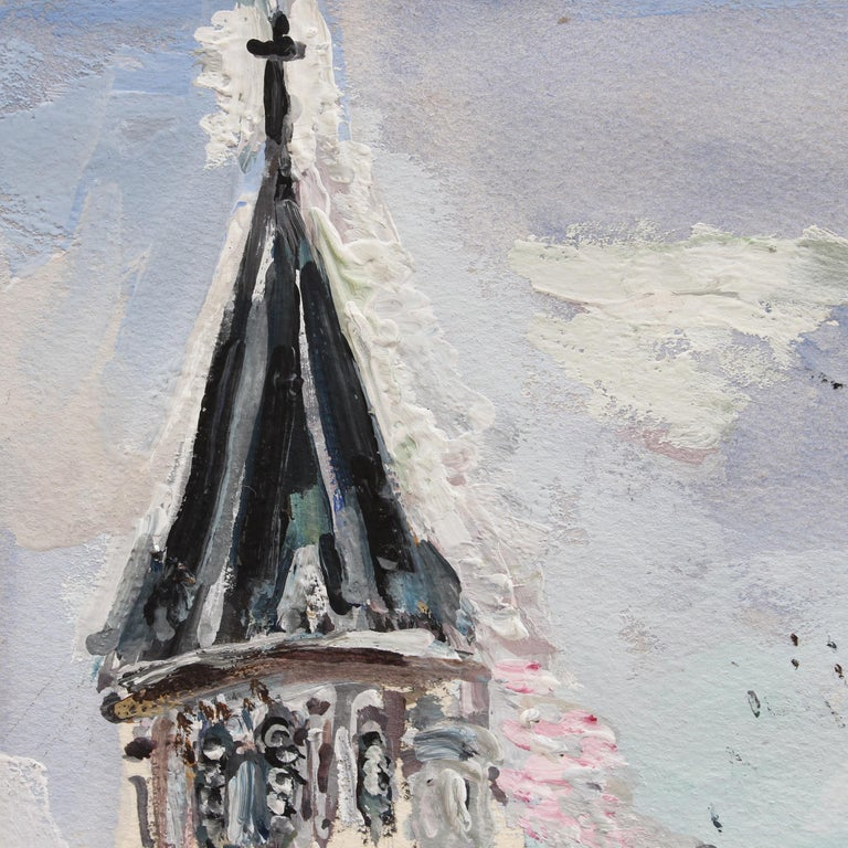 View of Saint Germain des Pres Church For Sale 4