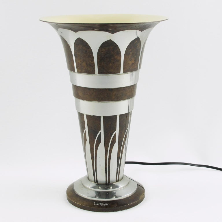 Stylish French Art Deco metal