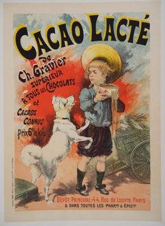 Cacao lacté (Milky cocoa) - Lithograph (Les Maîtres de l'Affiche), 1895