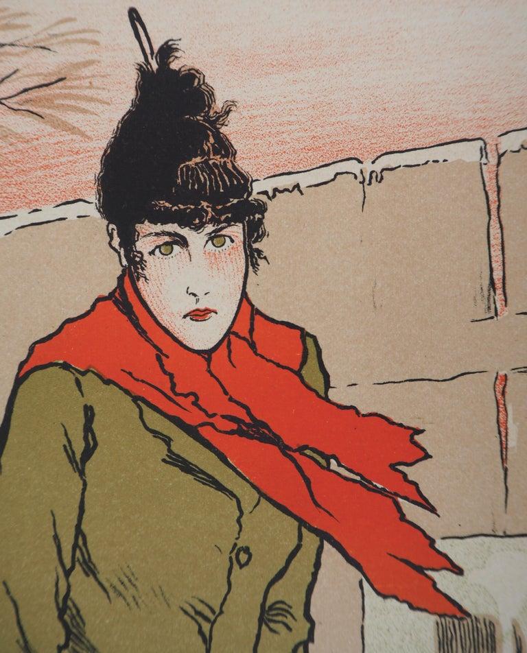 Eugénie Buffet (Ambassadeurs) - Lithograph (Les Maîtres de l'Affiche), 1895 For Sale 1