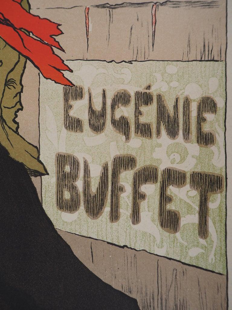 Eugénie Buffet (Ambassadeurs) - Lithograph (Les Maîtres de l'Affiche), 1895 For Sale 2