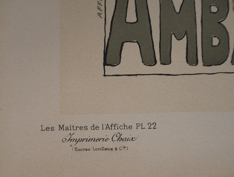 Eugénie Buffet (Ambassadeurs) - Lithograph (Les Maîtres de l'Affiche), 1895 For Sale 3