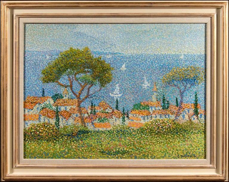 Lucien Neuquelman Landscape Painting - Saint Tropez
