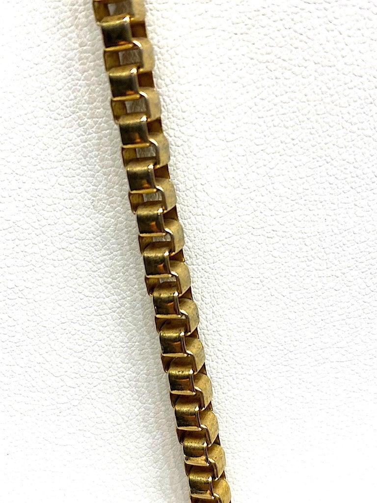 Lucien Piccard 1970s Enamel Pendant necklace For Sale 2