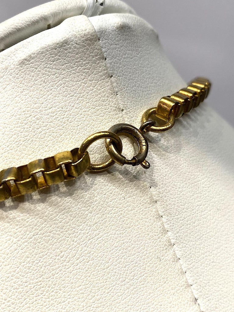 Lucien Piccard 1970s Enamel Pendant necklace For Sale 3