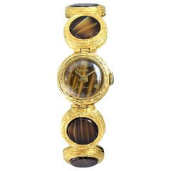 Lucien Piccard Gilded Finish Ladies Dress Watch with Original Box, circa 1960