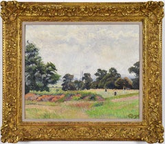 Golf Links, Acton by LUCIEN PISSARRO - Impressionists in London, Landscape Art