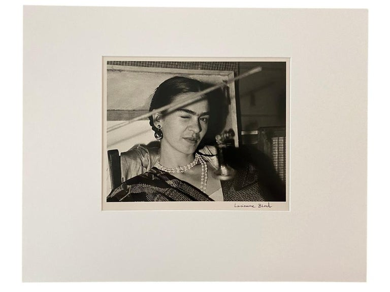 Frida Winking, New Workers School, NY - Photograph by Lucienne Bloch