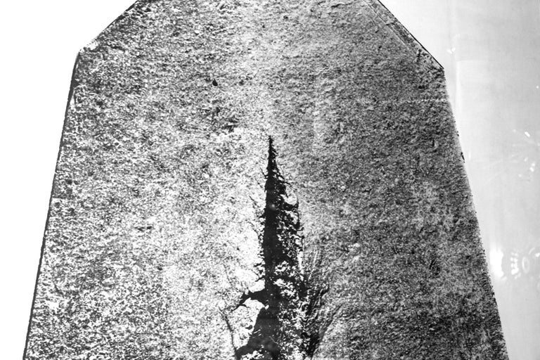 Lucio Fontana (1899-1968), Big Photography for the Project of the Resistance Monument in Cuneo, in collaboration with Francesco Somaini and Ico Parisi, Italy, circa 1962.  Biography: Lucio Fontana (1899-1968) Exposition, Solomon R.