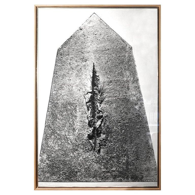 Lucio Fontana, Big Photography, Italy, circa 1962 For Sale