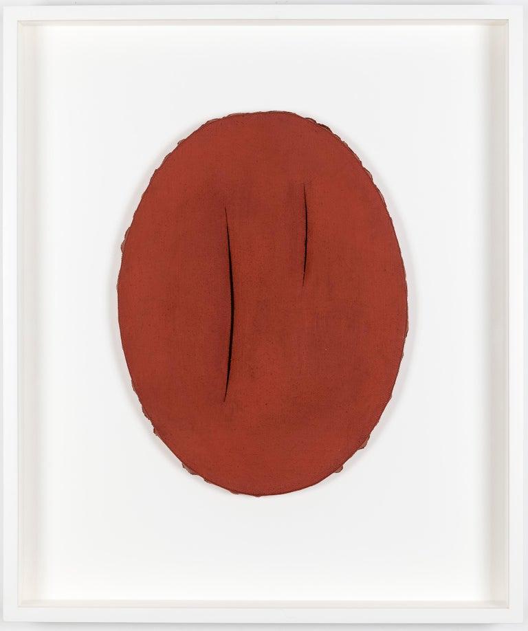 <i>Concetto Spaziale, I Quanta</i> ca. 1960, by Lucio Fontana, offered by Stern Pissarro Gallery