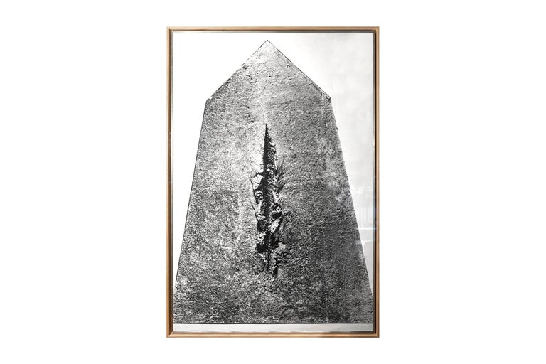Lucio Fontana (1899-1968), Big Photography for the Project of the Resistance Monument in Cuneo, in collaboration with Francesco Somaini and Ico Parisi, Italy, circa 1962.    Biography: Lucio Fontana (1899-1968) Exposition, Solomon R. Retrospective,
